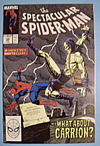 Spider-Man Comics - April 1989 - What About Carrion (Image1)
