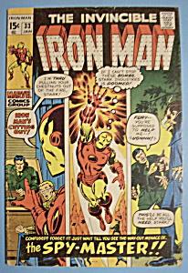 Iron Man Comics - January 1971 - Spy - Master (Image1)