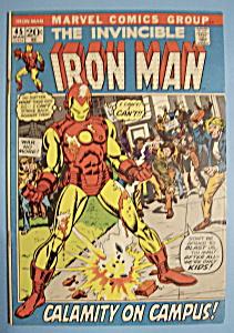 Iron Man Comics - March 1972 - Night Phantom (Image1)