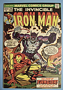 Iron Man Comics - March 1973 - Fangor