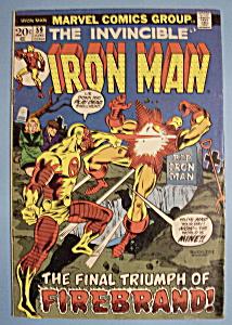 Iron Man Comics - June 1974 - Firebrand (Image1)