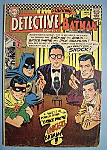 Detective Comics-Nov 1966-Bruce Wayne Unmasks Batman (Image1)