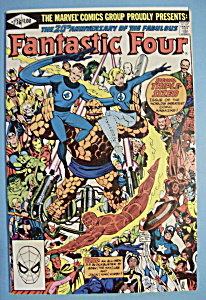 Fantastic Four Comics -nov 1981- Terror In A Tiny Town