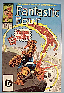 Fantastic Four Comics - August 1987 - Thing vs. Torch (Image1)