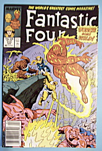 Fantastic Four Comics - April 1988 - Torch (Image1)