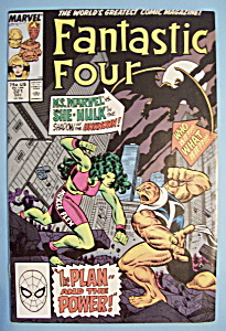 Fantastic Four Comics -dec 1988- Ms Marvel Vs. She Hulk