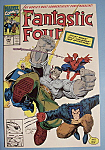 Fantastic Four Comics - Jan 1991 - Where Monsters Dwell