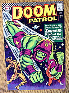 The Doom Patrol Comic #111-may 1967