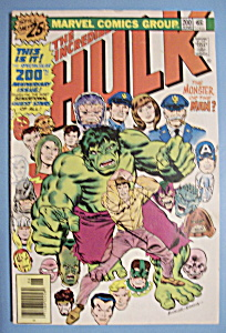 The Incredible Hulk Comics - June 1976