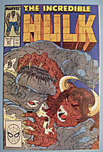 The Incredible Hulk Comics - March 1988