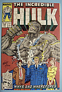 The Incredible Hulk Comics - August 1988