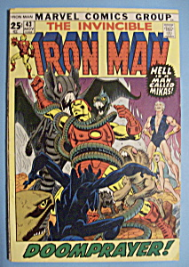 Iron Man Comics - November 1971 - Doomprayer (Image1)