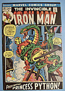 Iron Man Comics - Sept 1972 - Princess Python (Image1)