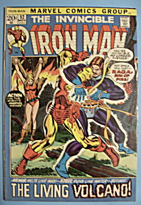 Iron Man Comics - Nov 1972 - Raga: Son Of Fire (Image1)