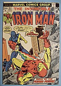 Iron Man Comics - Oct 1973 - Dr. Spectrum (Image1)