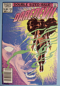 Daredevil Comics - January 1983 - Prologue