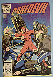 Daredevil Comics - June 1983 - Betrayal
