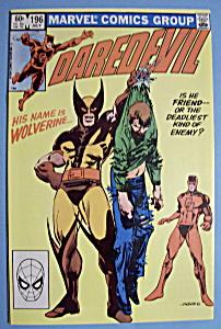 Daredevil Comics - July 1983 - Enemies (Image1)