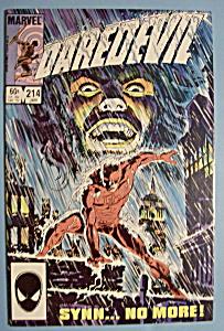 Daredevil Comics - January 1985 - The Crumbling (Image1)