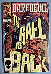 Daredevil Comics - March 1985 - Second Secret (Image1)