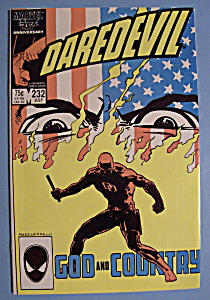 Daredevil Comics - July 1986 - God And Country