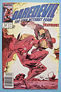 Daredevil Comics - December 1987 - Wolverine (Image1)