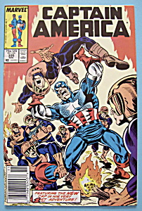 Captain America Comics -Nov 1987- Baptism Of Fire (Image1)