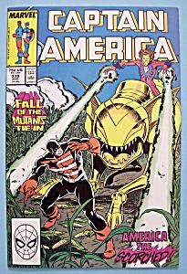 Captain America Comics -Mar 1988- America The Scorched (Image1)
