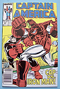 Captain America Comics -may 1988- Cap Vs. Iron Man