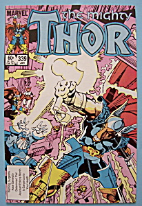Mighty Thor Comics - January 1984 - Something Old...