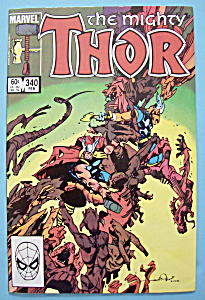 Mighty Thor Comics - February 1984 - Though Hel..