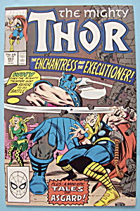 Mighty Thor Comics -may 1989- Enchantress & Executioner