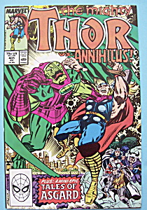 Mighty Thor Comics - July 1989 - Odin Must Die