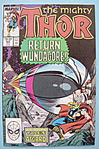 Mighty Thor Comics - August 1989 - War With Wundagore