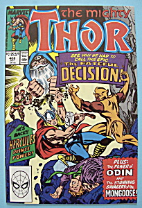 Mighty Thor Comics - Oct 1989 - The Fateful Decision