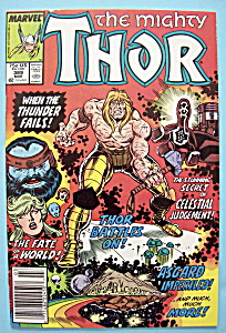Mighty Thor Comics - March 1988 - Thunder Fails