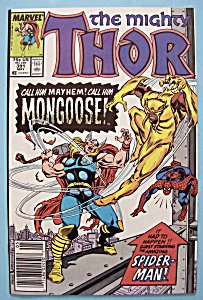 Mighty Thor Comics - May 1988 - Mongoose