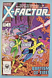 X - Factor Comics - February 1986 - Third Genesis (Image1)