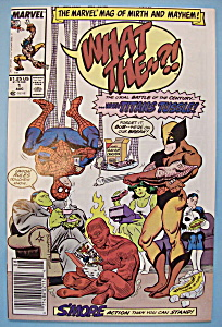 What The? Comics - August 1988 - Accounts Overdrawn