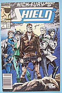 Nick Fury Agent Of Shield Comics - September 1989