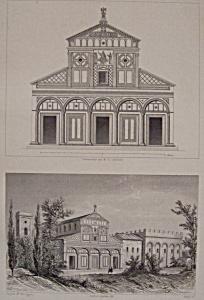Eglise De St Miniato, Pres Florence (Image1)