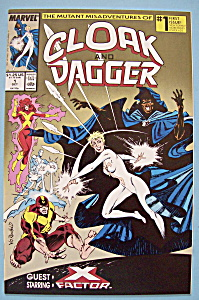 Cloak And Dagger Comics - Oct 1988 - Blind Salvation