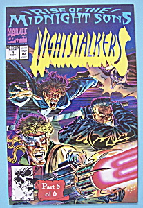 Rise Of The Midnight Sons Comic-nov 1992-nightstalkers