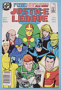 Justice League Comics - May 1987 - Born Again (Image1)