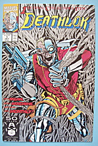 Deathlok Comics - July 1991 - The Wolf Is At The Door