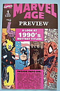Marvel Age Preview - June 1990 - 1990's Hottest Titles (Image1)