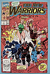 New Warriors Comics - July 1990 - From The Ground Up