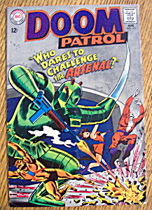 The Doom Patrol Comic #113-august 1967