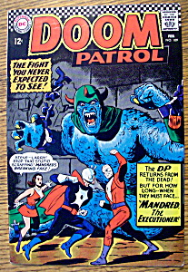 The Doom Patrol Comic #109-february 1967