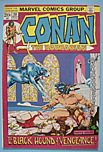 Conan The Barbarian -Nov 1972- Black Hound Of Vengeance (Image1)